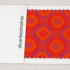 Stalenkaarten voor matrastijk 'Miranda' e.a. - Auping, Textielmuseum (registratiefoto), Textielmuseum (registratiefoto)