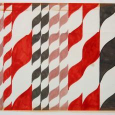 Tapijtstaal met zeshoekige motieven - Textielmuseum (registratiefoto), Lenie Hoos, Storck van Besouw Interior (Goirle)
