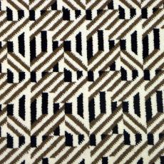 Staal voor projecttapijt met geometrische motieven - Lenie Hoos, Textielmuseum (registratiefoto), Storck van Besouw Interior (Goirle)