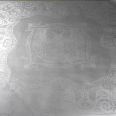 Servet 'Onafhankelijkheid van België' - Textielmuseum (registratiefoto), Koninklijke Weverij Van Dijk (Eindhoven), Textielmuseum (registratiefoto), Textielmuseum (registratiefoto), André Vlaanderen, Textielmuseum (Joep Vogels)