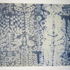 Gordijnstof 'Shah' - Textielmuseum (registratiefoto), Trude Guermonprez-Jalowetz, Het Paapje (Voorschoten)