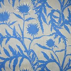 Gordijnstof 'Artisjok' - Trude Guermonprez-Jalowetz, Het Paapje (Voorschoten), Textielmuseum (registratiefoto)