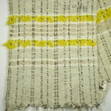 Tafelloper in grove wol - Het Paapje (Voorschoten), Textielmuseum (registratiefoto), Betty Hubers (toegeschreven)