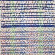 Staal voor vloerkleed - Textielmuseum (registratiefoto), onbekend, Het Paapje (Voorschoten)