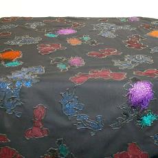 Tafelkleed - Anja de Roos, Textielmuseum (registratiefoto)