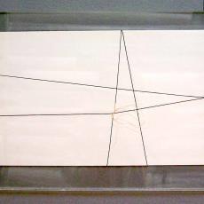 'Draadtekening' - Textielmuseum (registratiefoto), Marijke de Goey