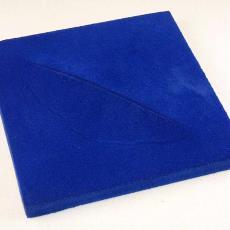 'Envelop-hoed' (blauw) - Textielmuseum (registratiefoto), Textielmuseum (registratiefoto), Textielmuseum (registratiefoto), Maria Blaisse