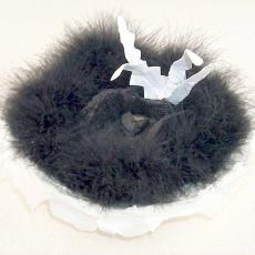 'Het lege nest' - Elizabeth van den Akker, Textielmuseum (registratiefoto)
