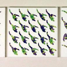 'Eurythmics 4' - Wilma Kuil, Textielmuseum (registratiefoto)