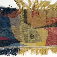 Proefweefsel 'wonderbare visvangst' - Textielmuseum (registratiefoto), Ernee van der Linden-'t Hooft