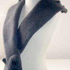 Sjaalkraag ''t Jukt' - Textielmuseum (registratiefoto), Textielmuseum (registratiefoto), Brigit Daamen