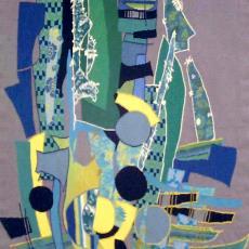 Titel onbekend - Handweverij De Knipscheer (Laren), Textielmuseum (registratiefoto), A.C. Apol-Boelhouwer