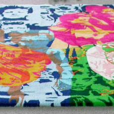 'Zonder titel' (remake van gedeelte van wandkleed voor Zwijsencluster Tilburg) - Textielmuseum (registratiefoto), Barbara Broekman, Textielmuseum (registratiefoto), Nederlands Textielmuseum, Textielmuseum (registratiefoto)