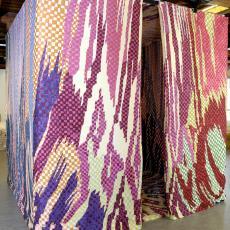 'Textile Room', installatie - Nederlands Textielmuseum, Barbara Broekman