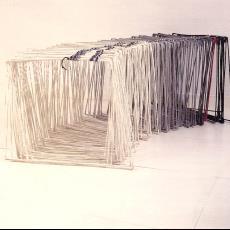 'Vierkantjes' - Lam de Wolf, kunstenaar