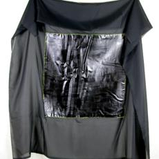 'Black Mirror' - Harry Boom, Textielmuseum (registratiefoto)