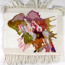 Proefstaal 'Vlinders' - Tapisserie- en Damastweverij (Tilburg), Textielmuseum (registratiefoto), Nederlands Textielmuseum, Marc Mulders