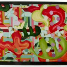 Ontwerp 'Himmelhoch jauchzend' - Christie van der Haak, Textielmuseum (registratiefoto), Textielmuseum (registratiefoto), Textielmuseum (registratiefoto), Nederlands Textielmuseum, Textielmuseum (registratiefoto)