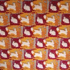 Vloerkleed, onderdeel van 'Rabbits First' - Berend Strik, Nederlands Textielmuseum