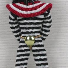 'Super Freak Zebra' - Hartmann, Eddo, Textielmuseum (registratiefoto), Textielmuseum (registratiefoto), Felieke van der Leest