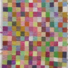 Proef voor tapisserie 'Handweef '71' - Anton Reukers, Nederlands Textielmuseum, Peter Struycken