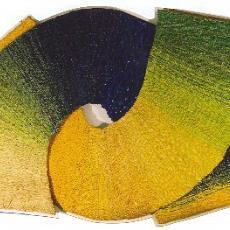 'Twee bogen' - Herman Scholten, Textielmuseum (registratiefoto)