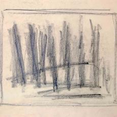 Schets voor wandkleed 'Pernis'(?) - Textielmuseum (registratiefoto), Wil Fruytier, Textielmuseum (registratiefoto), Textielmuseum (registratiefoto), Textielmuseum (registratiefoto)