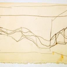 Schets voor wandkleden in hoekopstelling - Textielmuseum (registratiefoto), Wil Fruytier, Textielmuseum (registratiefoto)