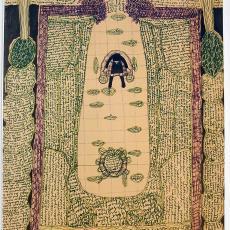 Schets met kruissteken - Textielmuseum (registratiefoto), Anna Verwey-Verschuure