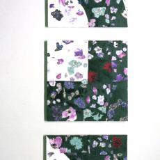'Drieluik' - Arjan van Arendonk, Textielmuseum (registratiefoto)